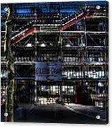 Eileen Gray At The Pompidou Acrylic Print
