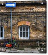 Einbahnstrasse Acrylic Print