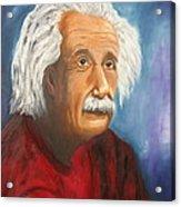 Einstein Acrylic Print by Doris Cohen