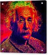 Einstein - Pop Art Acrylic Print