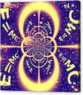 Einstein's Universe 3 Acrylic Print