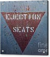 Ejection Seats Acrylic Print