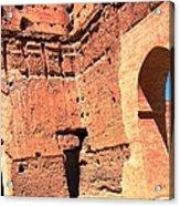 El Badi Palace 5 Acrylic Print