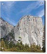 El Capitan And The Wall Of Granite Acrylic Print