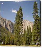 El Capitan And Yosemite Valley Acrylic Print