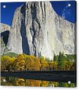 2m6516-el Capitan Reflect Acrylic Print