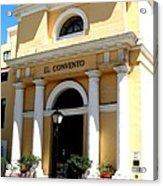 El Convento Hotel Acrylic Print