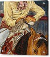 El Esperar Del Charro Acrylic Print