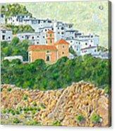 El Golco Acrylic Print