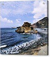 El Golfo Beach On Lanzarote Acrylic Print