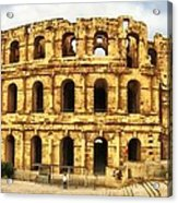 El Jem Colosseum Acrylic Print