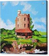 El Morrillo Fort In Matanzas Cuba Acrylic Print