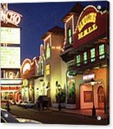 El Rancho Vintage Vegas Acrylic Print
