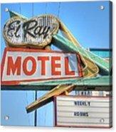 El Ray Motel Acrylic Print