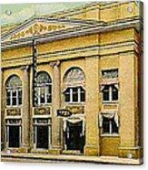 El Reno Oklahoma Opera House And Theatre 1910- Dwight Goss Acrylic Print