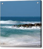 El Segundo Beach Jetty Acrylic Print