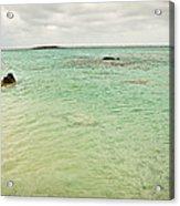 Elafonisi Sea View Acrylic Print