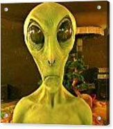 Elderly Alien Acrylic Print