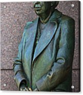 Eleanor Roosevelt Memorial Detail Acrylic Print