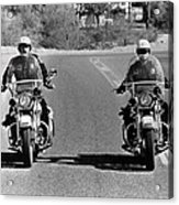 Electra Glide In Blue  Acrylic Print