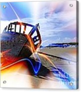 Electric Boat Acrylic Print