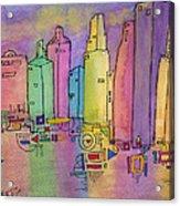 Electric City Acrylic Print