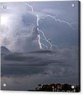 Electric Cloud Acrylic Print