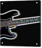 Electric Guitar Acrylic Print