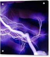 Electric Hand Acrylic Print