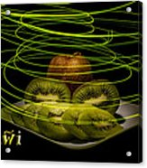 Electric Kiwi I Acrylic Print