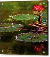 Electric Lily Pad Acrylic Print