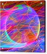 Electric Star Acrylic Print