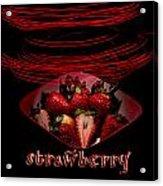 Electric Strawberry II Acrylic Print