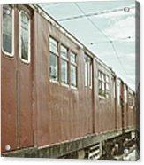 Electric Train Acrylic Print