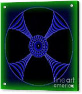 Electric Turbo Acrylic Print