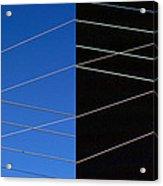 Electrical Grid Acrylic Print