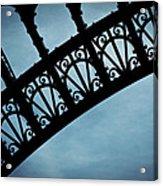 Electrify - Eiffel Tower Acrylic Print