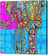 Elefantos - Av03-ps01 Acrylic Print by Variance Collections