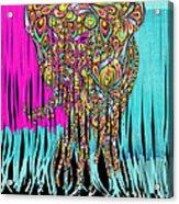 Elefantos - Cr01ac02 Acrylic Print