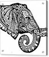 Elegant Elephant Acrylic Print