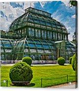 Elegant Greenhouse Acrylic Print by Viacheslav Savitskiy