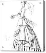 Elegant Lady Acrylic Print