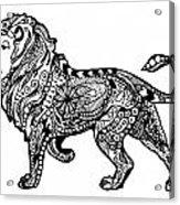 Elegant Lion Acrylic Print
