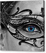 Elegant Mask Acrylic Print