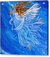 Elemental Earth Angel Of Wind Acrylic Print