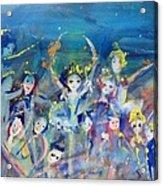 Elementals On The Beach Ballet Acrylic Print