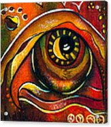 Elementals Spirit Eye Acrylic Print