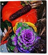 Elements Of Fall Acrylic Print