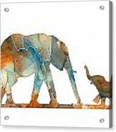 Elephant 01-2 Acrylic Print