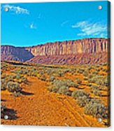 Elephant Butte From Wildcat Trail In Monument Valley Navajo Tribal Park-arizona   Acrylic Print